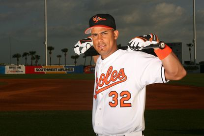 Luis Matos poses for a photo in 2006 in Florida.