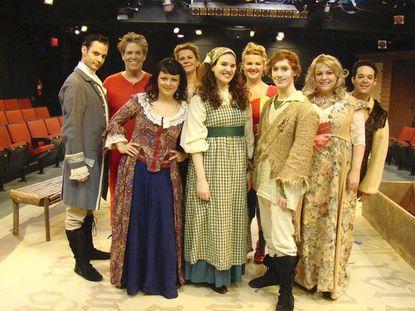 Bud Johnson's photo of CP Cinderella's Waltz cast.