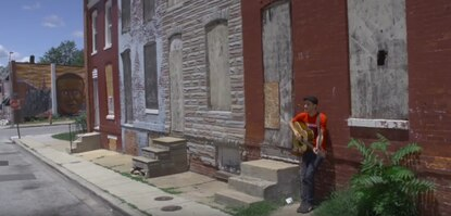 Ryan Harvey releases Baltimore-centric video for 'Old Man Trump,' co-starring Tom Morello and Ani DiFranco