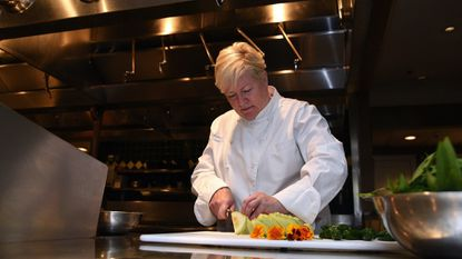 Chef Cindy Wolf has been named a James Beard Award finalist for the Best Chef: Mid Atlantic category. This is her 13th time being up for the prestigious food industry award.