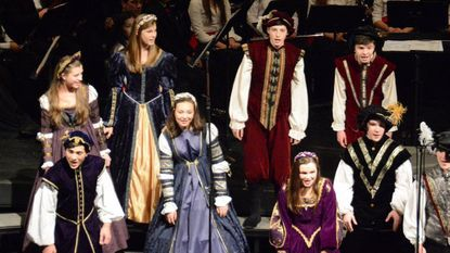 Glenelg High School's madrigal singers in a past performance.