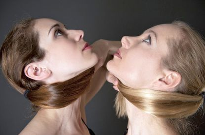 """Stephanie Yezek, left, and Francesca Jandasek are the founders of Bare Contemporary Dance Collaboration, premiering a new work titled """"Gallery Space"""" July 23 and 24 at Dance Place in Washington, D.C."""