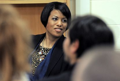 Baltimore Mayor Stephanie Rawlings-Blake is shown in this file photo.