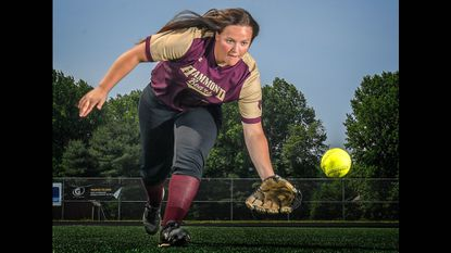Hammond senior Taylor Liguori, who led the county in five offensive categories this spring, has been named the 2019 Howard County softball Player of the Year.