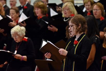 Central Carroll: McDaniel College Choir performing 'Of Wisdom and Folly'