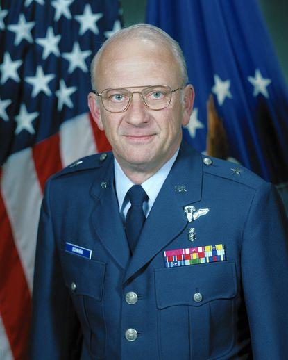 US Air Force Brigadier General Thomas E. Schwark