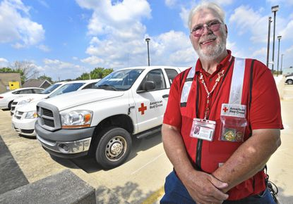 Brooklyn Park resident Ken Ayers, a volunteer with the American Red Cross, will be traveling to Louisiana to assist in the flooding relief effort.