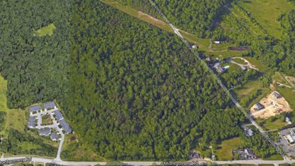 Howard County is considering the Rockburn Park site, at the intersection of Landing and Montgomery roads in Elkridge, as an option for High School 13.