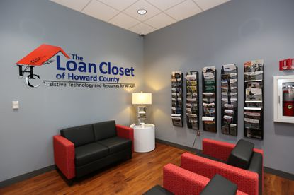 The Loan Closet, a Howard County resource that provides refurbished medical equipment to residents, reopened Thursday Jan. 9, 2019, at a new location in Columbia to accommodate the increasing community demand.