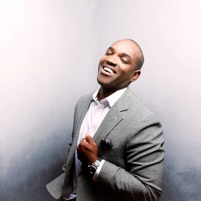 Tenor Lawrence Brownlee performs at Shriver Hall Feb. 23.