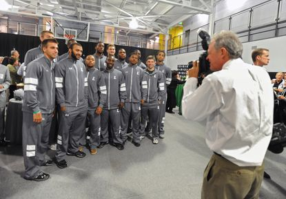 Loyola's men's basketball team is ready for a new season in a new conference with new head coach G.G. Smith.