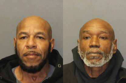 Noland Maurice Rheubottom, left, and James Edward Featherstone, are each charged with multiple counts of armed robbery, first- and second-degree assault and various handgun violations related to an armed robbery of an Aberdeen gas station and subsequent police chase.