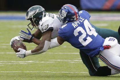 Giants' Landon Collins apologizes for blasting teammate Eli Apple as 'a cancer'