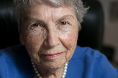 Edith M. Cord survived the Holocaust by hiding under multiple false identities throughout France during the Nazi occupation during WWII.