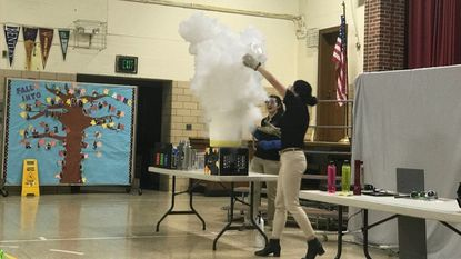A larger perspective: At Arbutus Elementary School, Maryland Science Center engages students