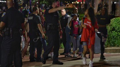 6 arrested as crowds of youths draw police attention to Baltimore's Inner Harbor