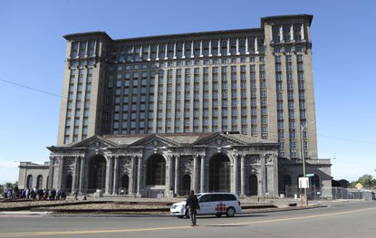 Detroit's train station — symbol of its fall from greatness — sold to Ford for redevelopment