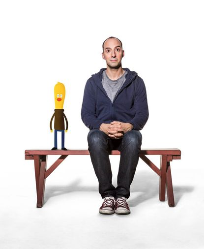 Meet Tony Hale and a chicken named Archie
