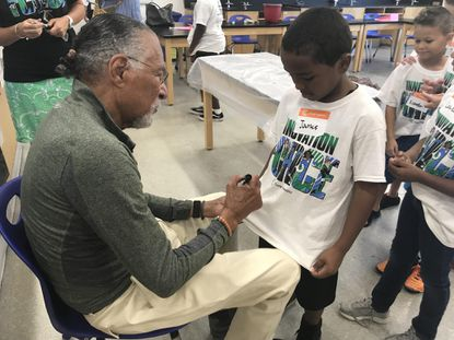 Inventor shares his love of learning, science with Camp Invention students in Aberdeen