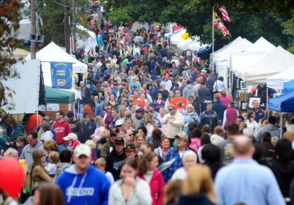 The Darlington Apple Festival is expected to draw 50,000 people.