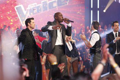 "Jermaine Paul, winner of this season's ""The Voice."""