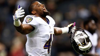 The Ravens re-signed defensive back Anthony Levine to a two-year contract.
