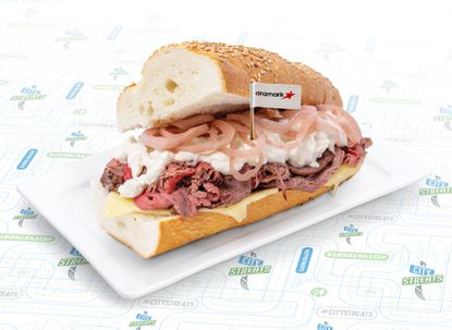 The new Pratt Street Hoagie will be available for Ravens fans at M&T Bank Stadium this season.