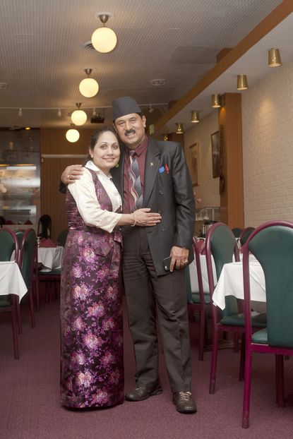 Prem Raja Mahat of Nepal House is an international music superstar in his spare time