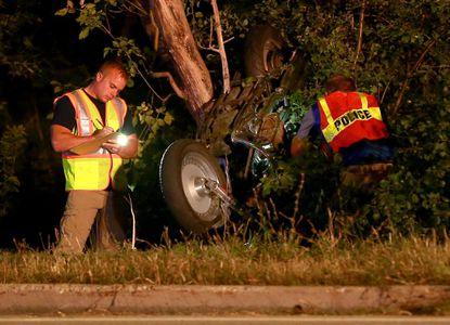 Antioch-area man killed in motorcycle crash Sunday night