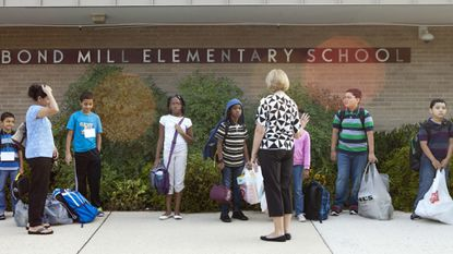 Bond Milll Elementary students collected more than $3,000 for Pennies for Patients.