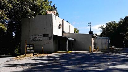 The Towson Moose Lodge put its property on Mylander Lane on the market in an effort to reduce expenses and find a smaller lodge site. Since then, Moose International has revoked the charter of the 63-year-old fraternal organization.