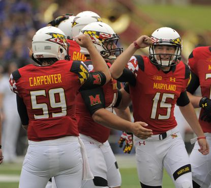 The beat reporters predict Maryland will be celebrating after Saturday's home game against Iowa.