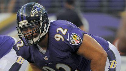 Ravens defensive tackle Haloti Ngata.