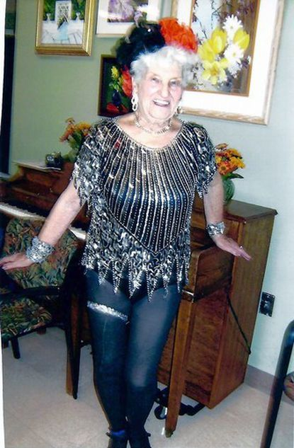 "Dolores ""jackie"" Dunphy, 85, is the founder and leader of the Golden Girls dancing group."