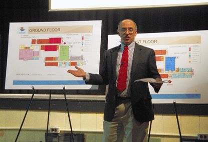 Schematic design for Catonsville Elementary unveiled at community meeting