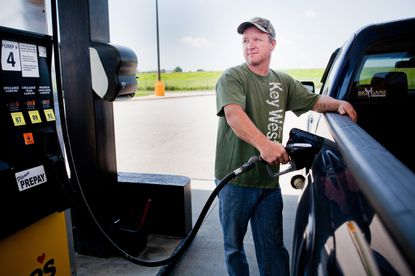 That fee to fill your tires with air at a gas station may be illegal.