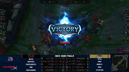 Howard Community College won the New England Collegiate Conference League of Legends championship on Saturday. The title is the first for the Dragons' esports program that was established this fall.