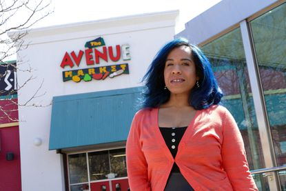 Baltimore,MD -- Tiffany Welch, the food justice organizer for the No Boundaries Coalition, is in charge of the fresh food stall at The Avenue Market on Saturdays and will be expanding that work with help of a grant from the T. Rowe Price Foundation.