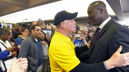 'This is the way all political races should end': In Howard County, Ball, Kittleman embrace on election night