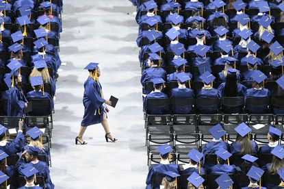 The coronavirus has meant the cancellation of commencement ceremonies across the country.