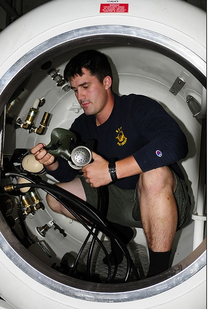 """Diver 2nd Class Ryan Harris, 22, drowned Feb. 26 while training at the """"Super Pond"""" at Aberdeen Proving Ground."""
