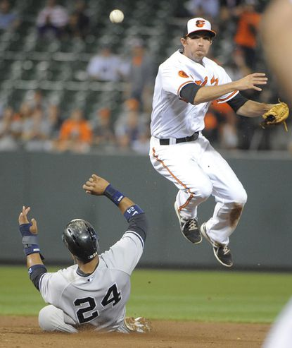 Shortstop J.J. Hardy is one of six Orioles players who are contenders for 2013 Gold Glove awards.