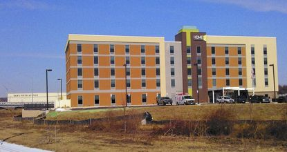 The Home2 Hotel, at 20 Newton Road at the Route 40 and 715 interchange, is five stories with 107 suites.