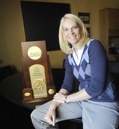 Maryland women's basketball coach Brenda Frese sits down with Peter Schmuck.