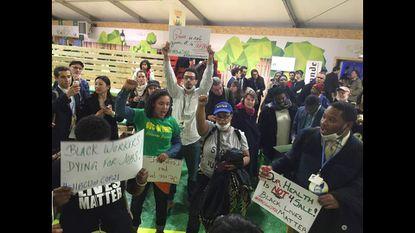 Black Lives Matter demonstration in Paris calls for climate justice