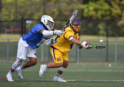 Faceoff specialist Brett Malamphy has helped Salisbury advance to the NCAA Division III men's lacrosse championship game.