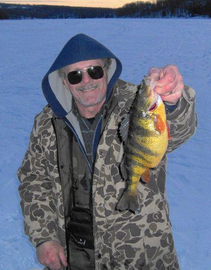 Ice-jigging tactics for Deep Creek perch
