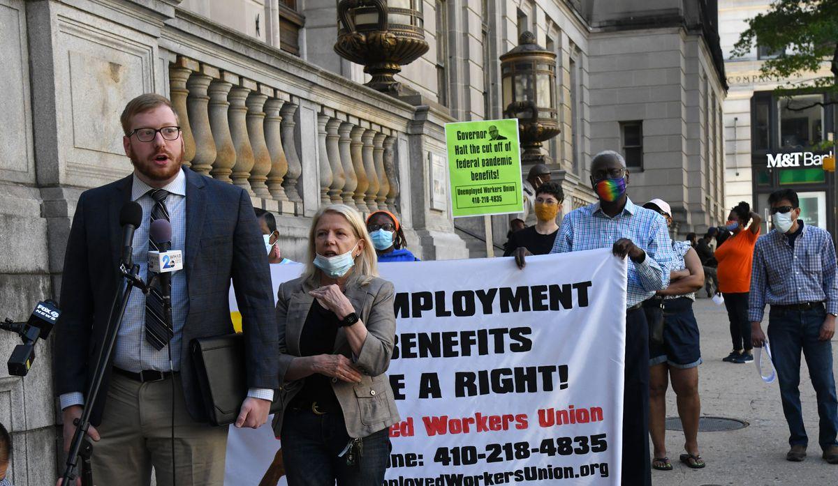 Lawsuit challenges Gov. Hogan's decision to end federal unemployment benefits - Baltimore Sun
