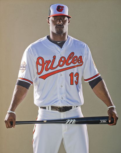 A former Stanford football and basketball recruit, Jai Miller is trying to prove he can give the Orioles enough quality at-bats to make the team as a reserve outfielder.