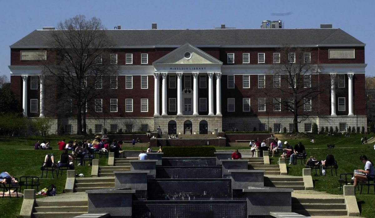 University of Maryland used a private company to issue a
